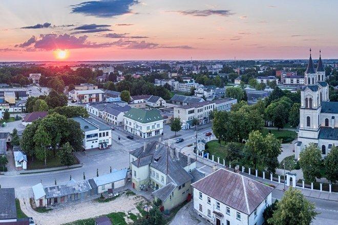 Po istorinį Vilkaviškio miestą pasižvalgius
