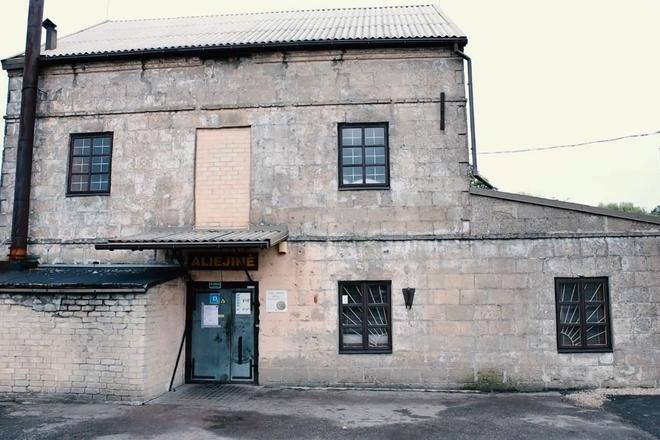 The old Vilkaviškis oil plant