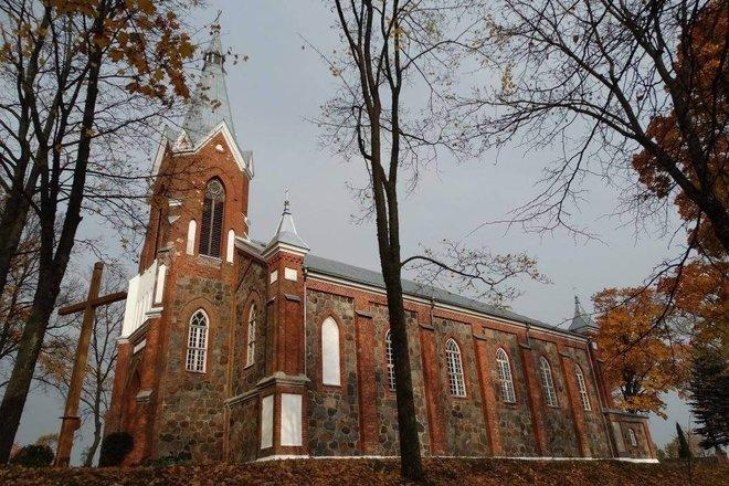 Gražiškių St. Kirche St. Michael der Erzengel