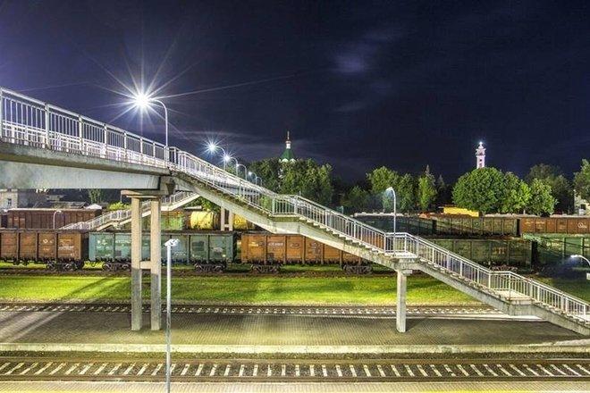 Кибартайский пешеходный мост-виадук